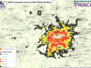 Plan your travel to Old Trafford for the big game with TRACC