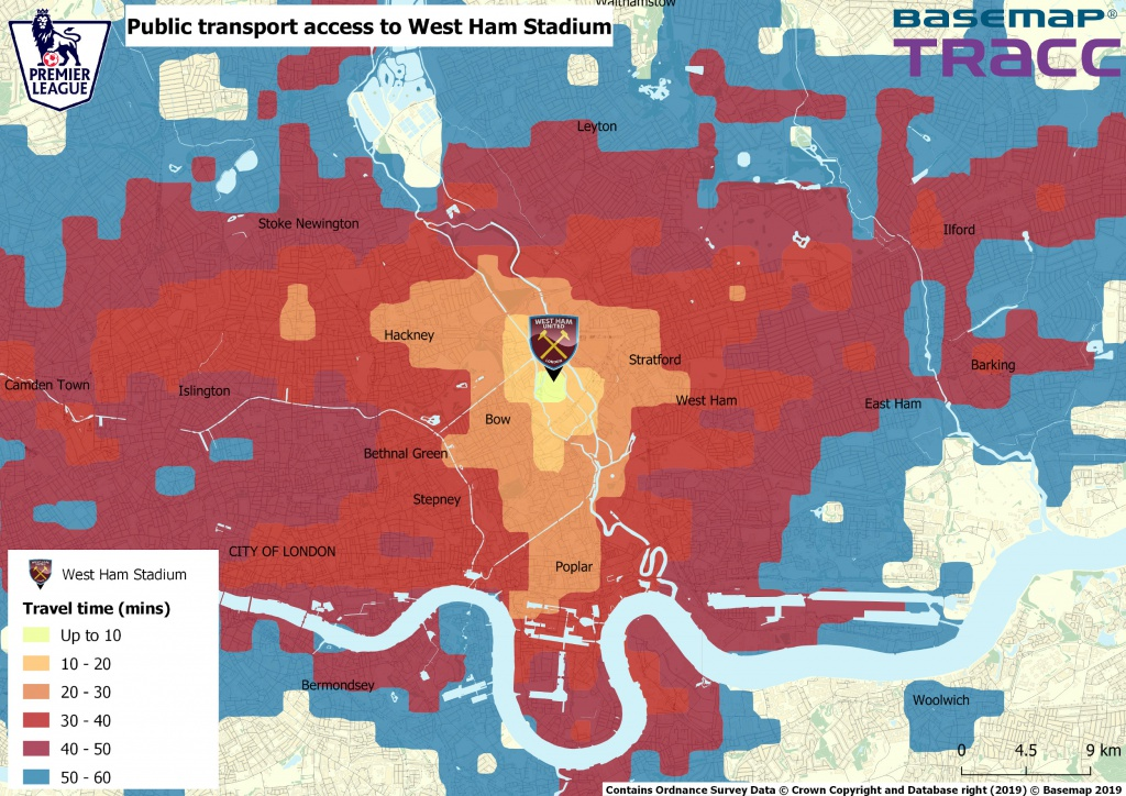 West Ham Travel Times