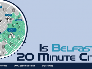 Is Belfast a 20-Minute city?