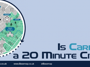 Is Cardiff a 20-Minute city?